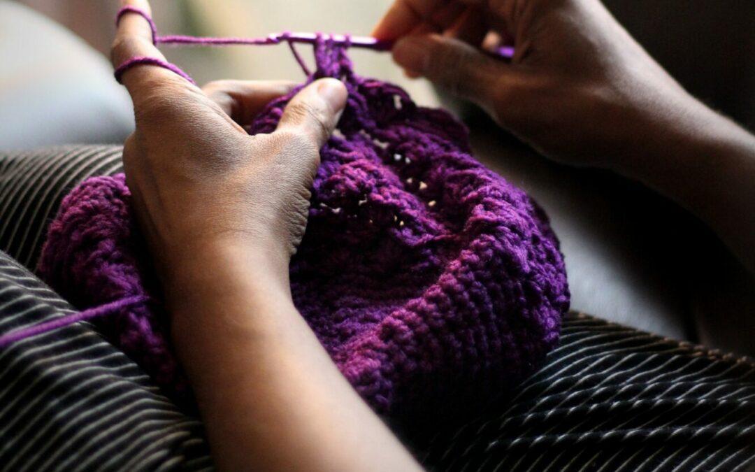 An easy project – woollen leg warmers